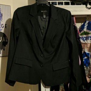 Lane Bryant pinstripe blazer size 18